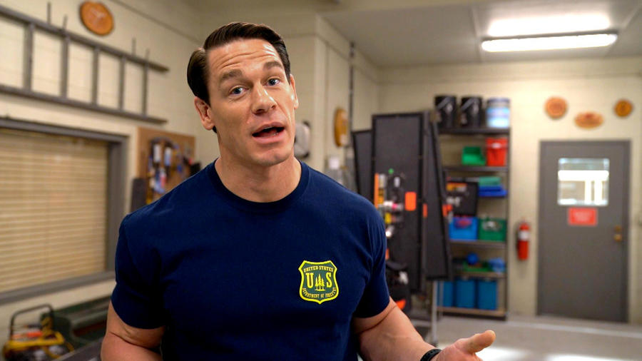 John Cena Takes You Behind The Scenes Of His New Movie Playing With Fire